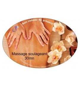 Massage soulageant 30mn
