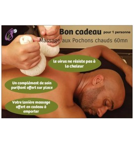 Massage Pochons chauds 60mn