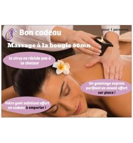 Massage à la bougie 60mn